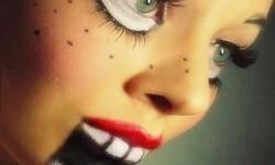maquillarte para Halloween facil con creatividad, habilidad trucos (37)