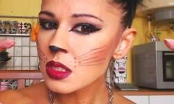 maquillarte para Halloween facil con creatividad, habilidad trucos (41)