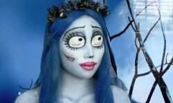 maquillarte para Halloween facil con creatividad, habilidad trucos (5)