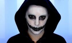 maquillarte para Halloween facil con creatividad, habilidad trucos (6)