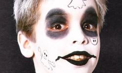maquillarte para Halloween facil con creatividad, habilidad trucos (8)