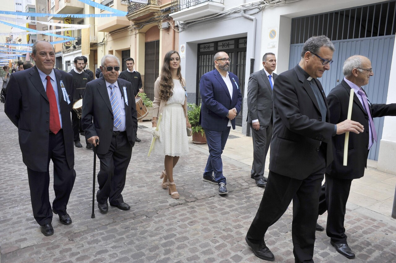 Procesion en honor a la Mare de Déu del Lledó de la comision de fiestas dels carrers Mare de Déu del Lledó i Lope de Vega (slowphotos.es).
