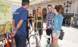 semana movilidad carpa bicicas