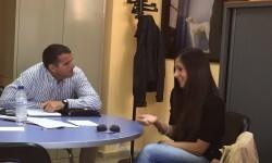 Íñigo Losada y Victoria Marín