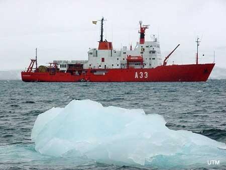 Buque de Investigación Oceanográfica Hespérides (Foto: Unidad de Tecnología Marina del CSIC)