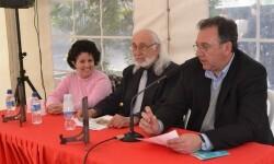 Acto reciente de la UNEE con Vicente Enguidanos en el centro