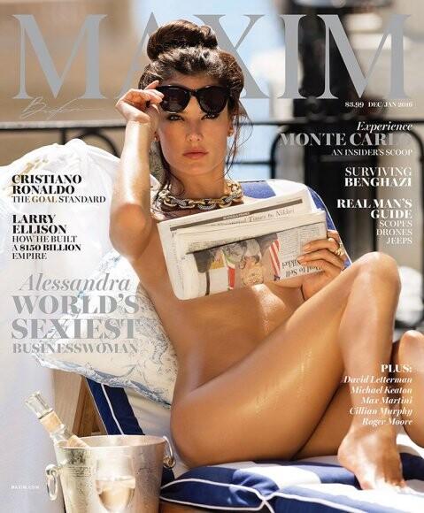 Alessandra Ambrosio posó desnuda para la revista Maxim (3)