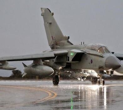 Avión Tornado.