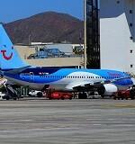 Avión detenido.