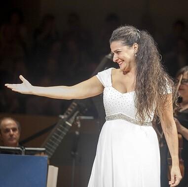 Bartoli cantó un programa en el que recurrió a las arias y la música instrumental. (Foto-Eva Ripoll).