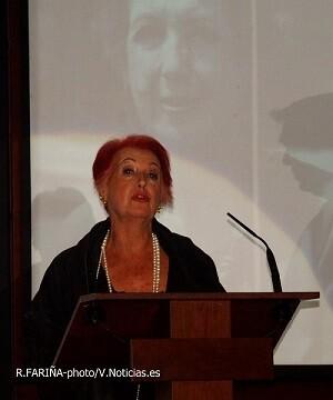 Calaf fue galardonada con el Premio Integridad por EVAP.