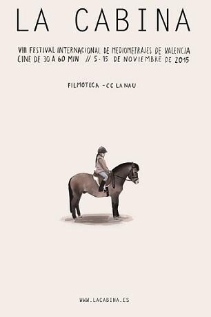 Cartel de la VIII edición de La Cabina.