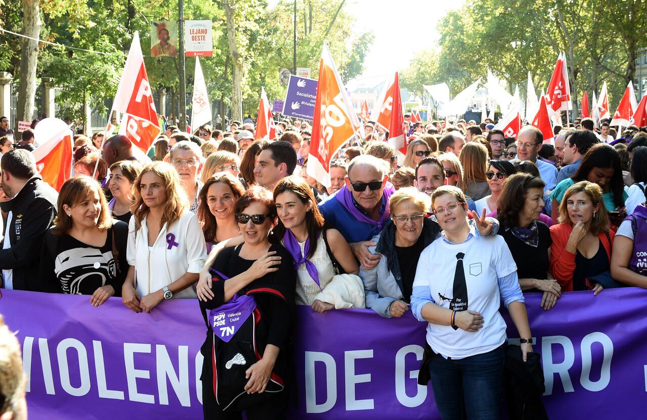 Concentración Violencia de género Madrid foto_Abulaila (1)