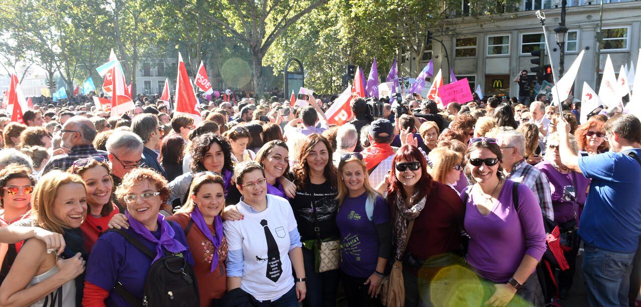 Concentración Violencia de género Madrid foto_Abulaila (3)