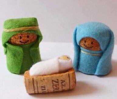 Crea en tu casa una decoración navideña reciclada (17)