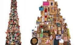 Crea en tu casa una decoración navideña reciclada (18)