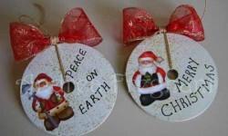 Crea en tu casa una decoración navideña reciclada (9)