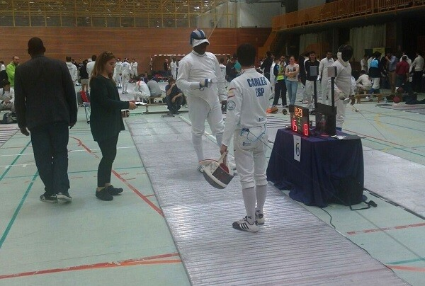 Cuatro tiradores valencianos participaron en el II Torneo Nacional de Ranking Senior a Espada Masculina.