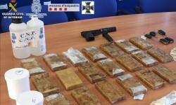 Detenidos 35 miembros de una macroorganización criminal dedicada al tráfico de heroína.