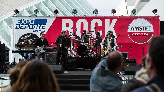 Durante los dos días de apertura de la feria, el ambiente está garantizado con la iniciativa Rock&Run.