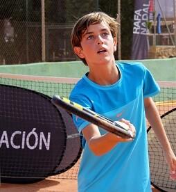 Educación y deporte con la Fundación Rafa Nadal.