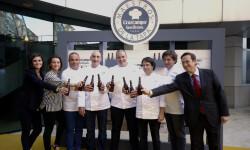 """El CdT de Valencia recibe a los chefs participantes del concurso""""Maestros de la Tapa"""" (17)"""