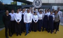 """El CdT de Valencia recibe a los chefs participantes del concurso""""Maestros de la Tapa"""" (8)"""