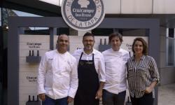 """El CdT de Valencia recibe a los chefs participantes del concurso""""Maestros de la Tapa"""" (9)"""