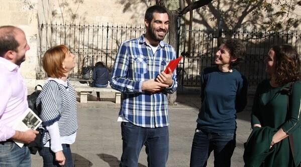 El Hemiciclo del Ayuntamiento de Valencia acogió igualmente dos sesiones de las Cortes Republicanas.