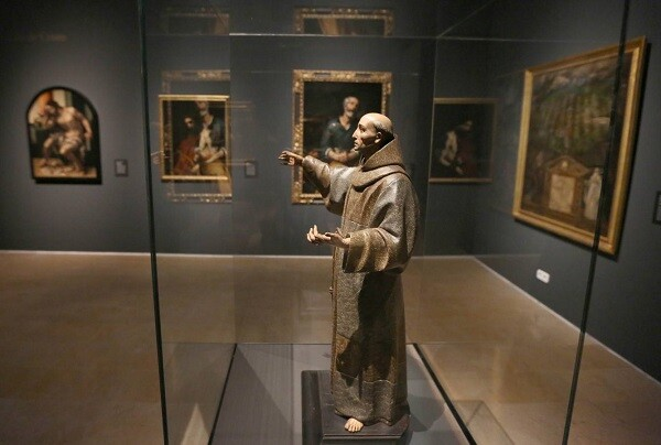 """Inaguración de la Exposición """"Melancolia"""" en el Museo de Escultura.fto Henar Sastre"""