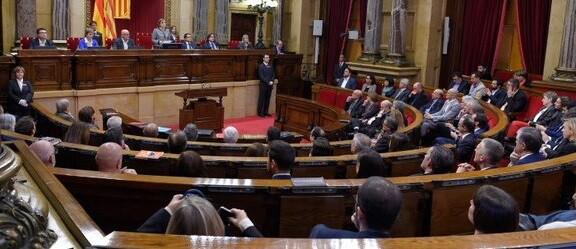 El Parlament catalán aprueba la ' class=