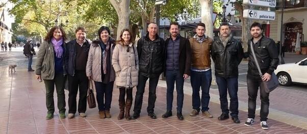 El cap de llista al Congrés per València també ha reivindicat la necessitat que el tren de rodalies continue fins la Font de la Figuera.