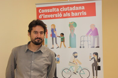 El concejal de Participación Ciudadana, Jordi Peris.