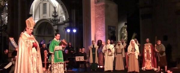 El concierto escenificado de El cant de la Sibil·la será interpretado por el grupo de música antigua Capella dels Ministrers.