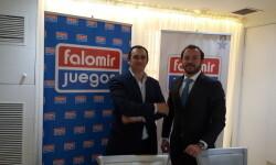El director de marketing, Fernando Falomir y el director comercial, Sandro Falomir