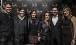 El equipo de LADAA de Sergio Adelantado y Sara López Blanco con Olga Adelantado y Lourdes Luz y John Henao de Moltto