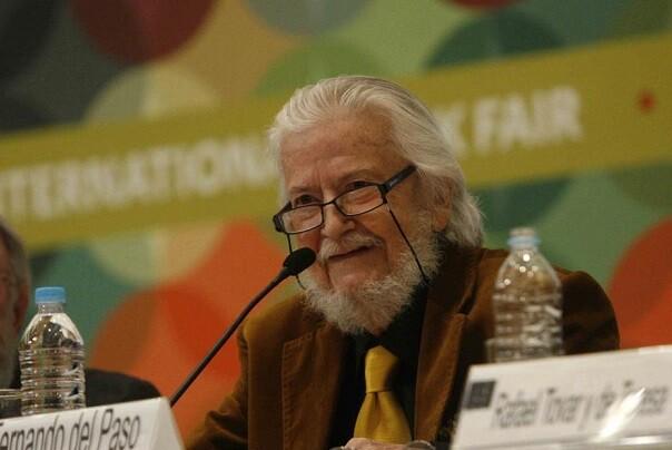 El mexicano Fernando del Paso, Premio Cervantes 2015.
