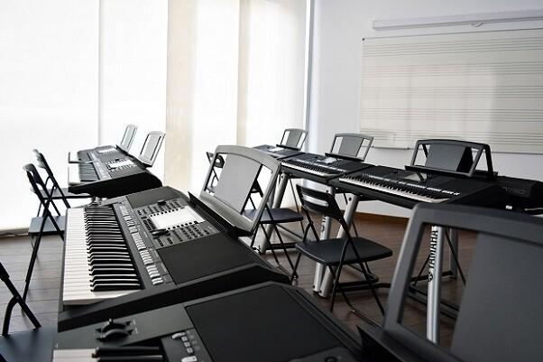 El profesorado de Yamaha Music School lo forman profesionales de nivel internacional.
