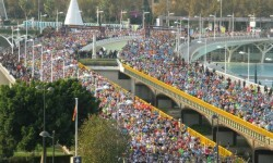 El récord de Mwangangi en el Maratón de Valencia sitúa la carrera en la élite mundial.