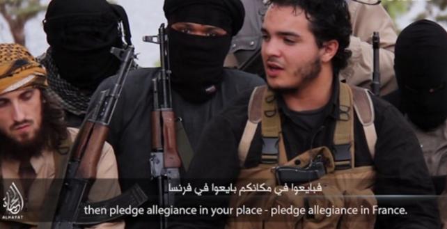 En un nuevo video, el Estado Islámico llamó a seguir atacando Francia