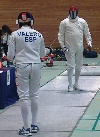 Fran Valero frente  a Yulen Pereira.