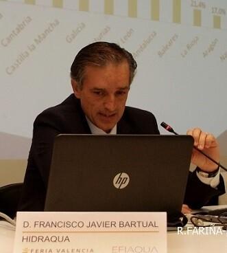 Francisco Bartual, director general de Hidraqua.