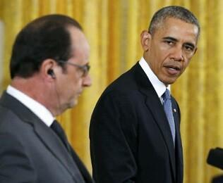 Francois Hollande obtiene el apoyo norteamericano.