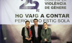 Gene Sanabria, Jorge Rodríguez e Isabel Garcia (Foto-Abulaila)