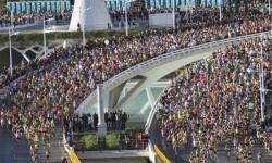Imagen de salida de la Maratón de 2014.