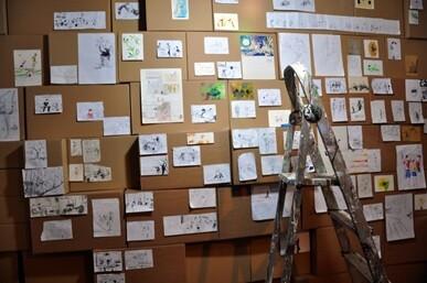 Instalación de Anja Krakowsky y Carlos Maiques.