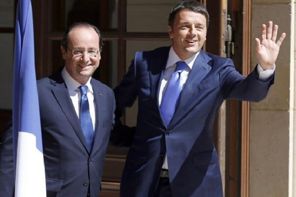 Italia muestra su apoyo a Francia en su lucha contra el Estado Islámico.