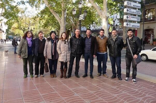 Joan Baldoví, 'Tenim dret a una línia Xàtiva-Alcoi en condicions i a que ens escolten'.