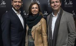 John Henao con Mamen Puchades y Guillermo Martorell