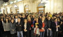 L'Ajuntament de Castelló condemna els atemptats a París del 13 de novembre minuto de silencio 1 (2)